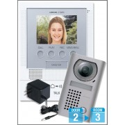 AIPHONE JFS-2AEDV Handsfree Video Intercom Kit - Surface Mounted